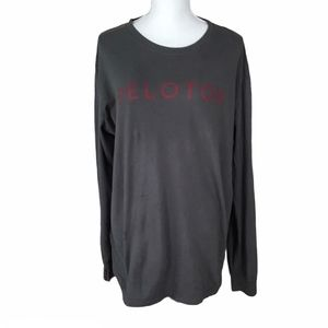 Peloton Athletic Pullover Long Sleeve Shirt Size L
